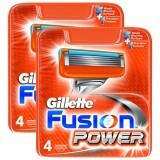 Gillette Fusion Power Yedek Tıraş Bıçağı 4lü x 2 Adet