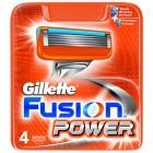 Gillette Fusion Power Yedek Tıraş Bıçağı 4lü