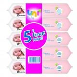 Uni Baby Cream Islak Havlu 5'li Fırsat Paketi