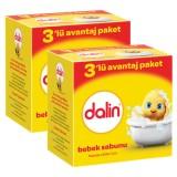 Dalin Bebe Sabun 100 gr (3lü Avantaj Paketi) x 2 Adet