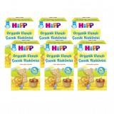 Hipp Organik Elmalı Çocuk Bisküvisi 150 gr x 6 Adet