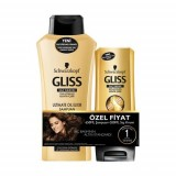 Gliss Ultimate Oil Elixir Şampuan 650 Ml + Saç Kremi 200 ml