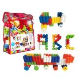 Akallı Oyuncak Junior 45 Parça Çantalı Blok Set 05-183