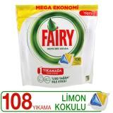 Fairy Hepsi Bir Arada Bulaşık Makinesi Kapsülü 108 li