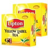 Lipton Yellow Label Bardak Poşet Çay 100'lü 200 gr x 2 Adet