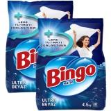 Bingo Matik Toz Deterjan Ultra Beyaz 4,5 Kg x 2 Adet