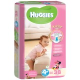 Huggies Kız Bebek Bezi Maxiplus 4+ Beden 38 li