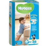 Huggies Erkek Bebek Bezi Maxiplus 4+ Beden 38 li