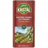 Kristal Naturel Sızma Dolgun Güçlü Zeytinyağı 5 Litre