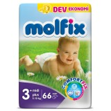 Molfix Comfort Fix Dev Ekonomi Midi Plus 3+ No 66 lı