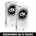 Okey Zero Prezervatif 10lu x 2 Adet