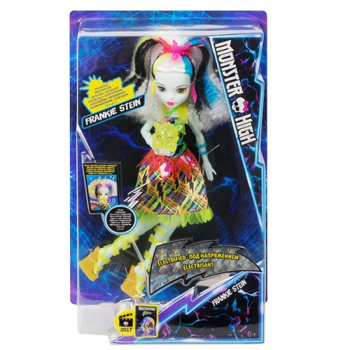 MonsterHigh Elektrik Saçlı Frankie Dvh72