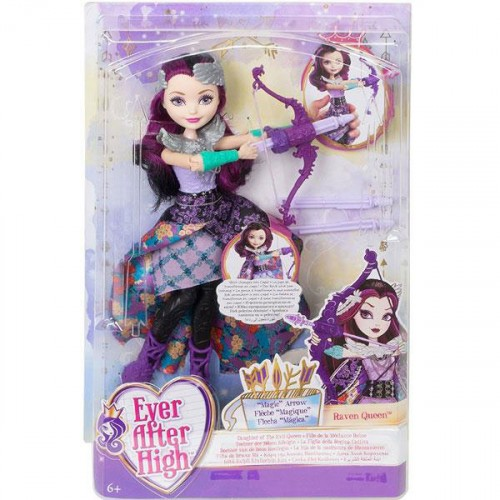 Ever After High Büyük Prenses Bebek Raven Queen Dvj21