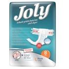 Joly Belbantlı Hasta Bezi Large 8'li