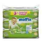 Molfix Islak Havlu Bebe Losyonlu Avantaj Paketi 60x3 Adet (180 Yaprak)