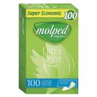 Molped Ekstra İnce Günlük Ped Parfümsüz (100 Adet)