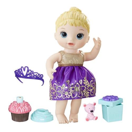 Baby Alive Doğum Günü Bebeğim E0596