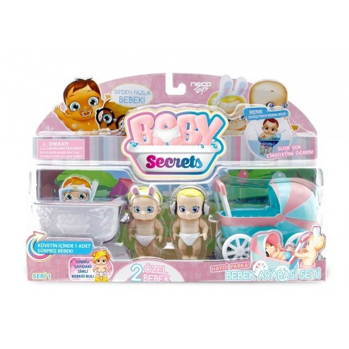 Baby Secrets Sürpriz Figür ve Oyun Seti 1.Seri