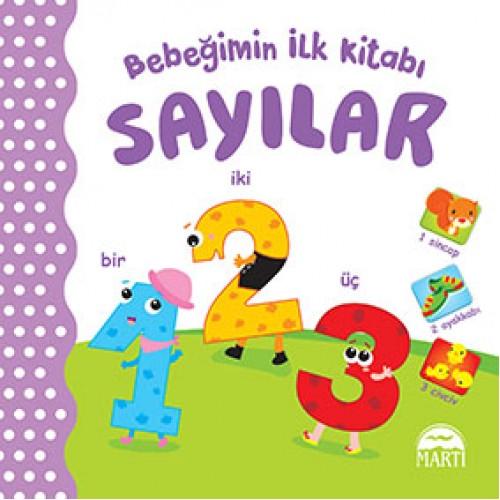 Bebeğimin İlk Kitabı - Sayılar - Gamze Tuncel Demir