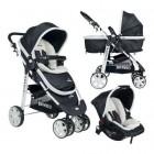 Beneto Bt-500 Trio Travel Bebek Arabası Siyah