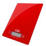 CVS Dn-3808 Hassas Cam Mutfak Terazisi (Kırmızı)