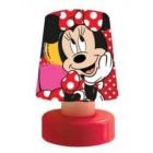 Disney Minnie Mouse Led Bas Çalış Gece Lambası (Pilli) 5403