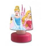 Disney Princess Led Bas Çalış Gece Lambası (Pilli) 5404