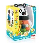 Dolu Kutulu Panda Büyük Bloklar 18 Parça 5170