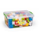 Dolu Renkli Bloklar 130 Parça 5091