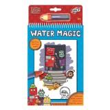 Galt Water Magic Sihirli Boyama Kitabı- Robotlar (3 Yaş+)
