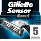 Gillette Sensor Yedek Tıraş Bıçağı Excel 5 li
