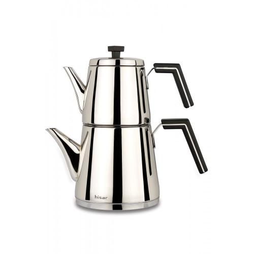 Hisar Milano Çaydanlık Takımı Siyah