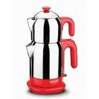 Korkmaz A369-01 Demtez Çay Makinesi (Kırmızı)