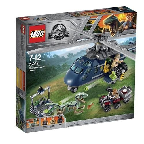 Lego Jurassic World Blues Helicopter 75928