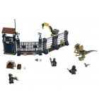 Lego Jurassic World Dilophosaurus Attack 75931