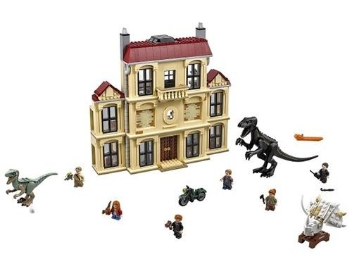 Lego Jurassic World Indoraptor Estate 75930