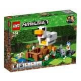 Lego Minecraft Chicken Coop 21140