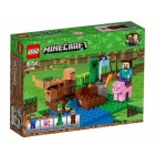 Lego Minecraft Melon Farm 21138