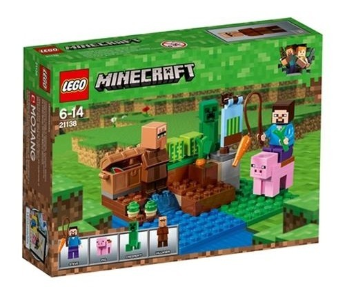 Lego Minecraft Melon Farm 21138