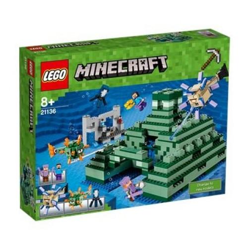 Lego Minecraft Ocean Monument 21136