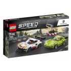 Lego Speed Champions Porsche 911 RSR ve 911 Turbo 3.0 75888