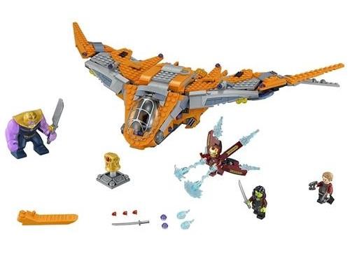 Lego Super Heroes Thanos: Muhteşem Savaş 76107