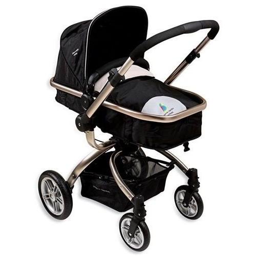 Pierre Cardin PC-405 Twist Travel Sistem Bebek Arabası Siyah