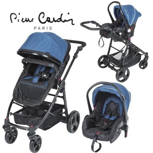 Pierre Cardin PC-418 Tour Travel Sistem Bebek Arabası Mavi