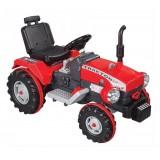 Pilsan 12 V Akülü Süper Traktör-Kırmızı 05-210