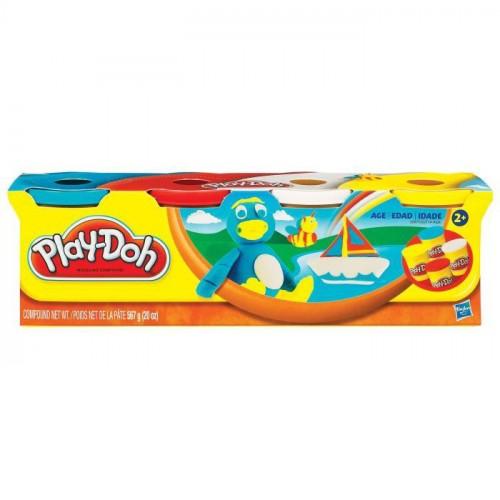 Play-Doh 4lü Oyun Hamuru B5517