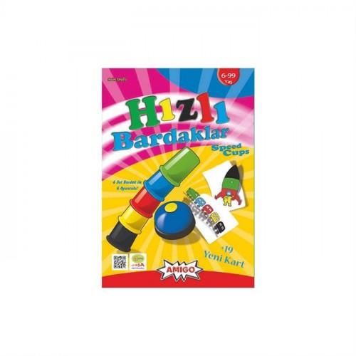Amigo Speed Cups Hızlı Bardaklar 6lı Set (Anne Akıl Oyunları)