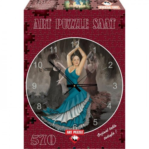 Art Puzzle 570 Parça Saat Flamenco 4139