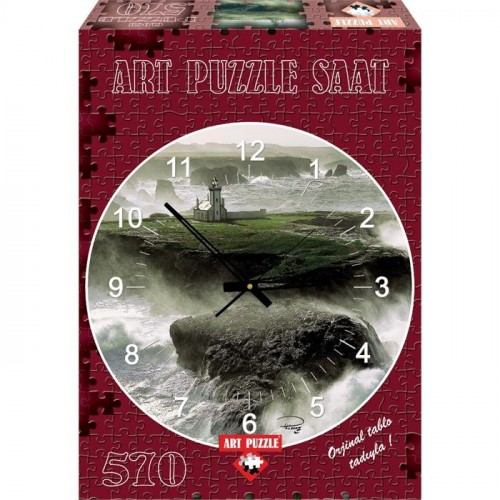 Art Puzzle 570 Parça Saat Les Poulains 4140