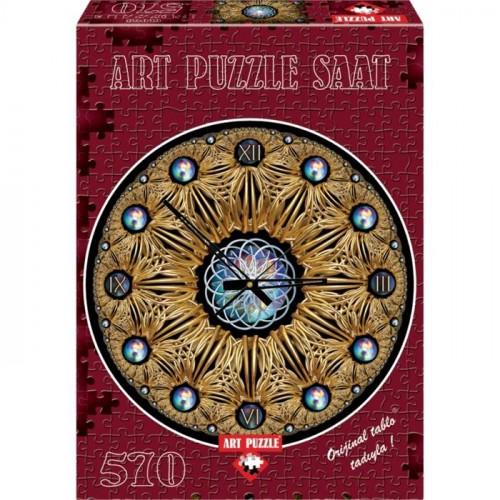 Art Puzzle 570 Parçalık Saat Dore 4148